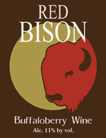 Red Bison Buffaloberry Wine
